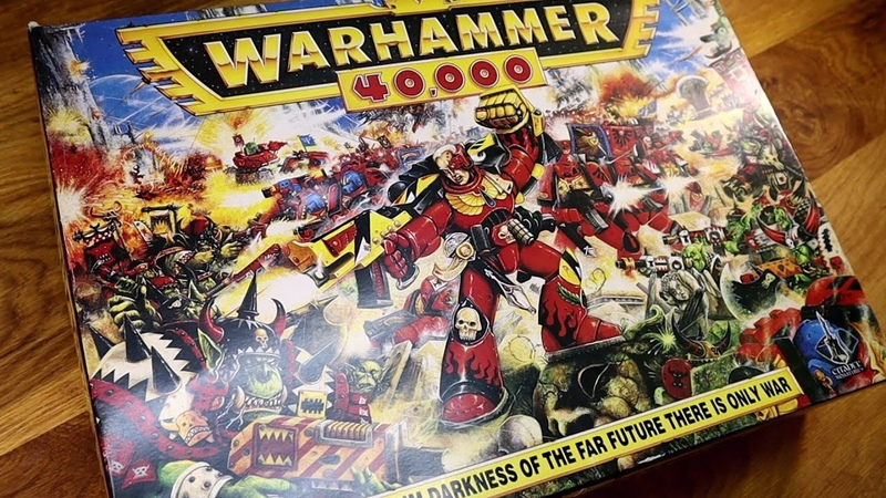 Retro unboxing: 1993 Warhammer 40,000 2nd Edition
