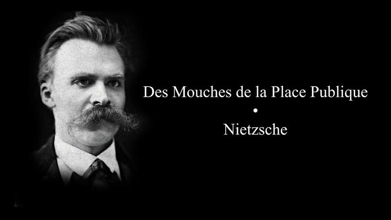 Nietzsche • Des Mouches de la Place Publique