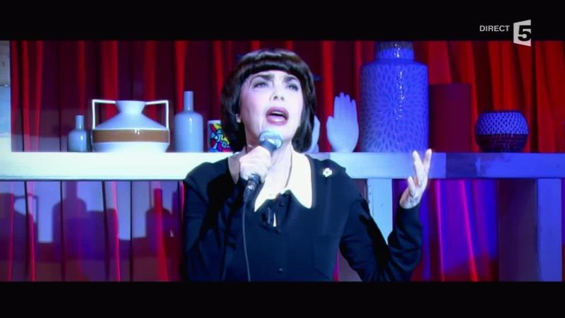 Mireille Mathieu Une vie d'amour - C à vous - 30/10/2014