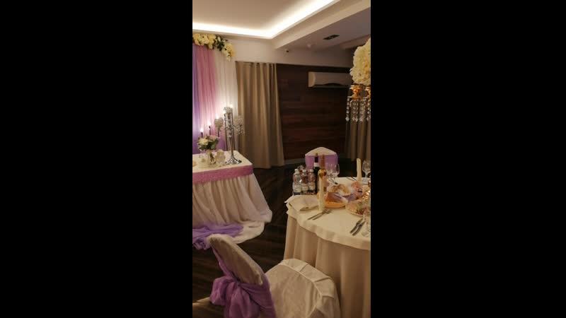 Организация свадьбы. Декорирование