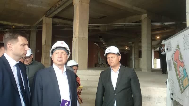 Александр Беглов попросил ускорить строительство школы на Нерчинской улице