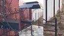 🌋 Кованый мангал Подмосковье Плюс с трубой 🕺 с печкой, жаровней и крышей