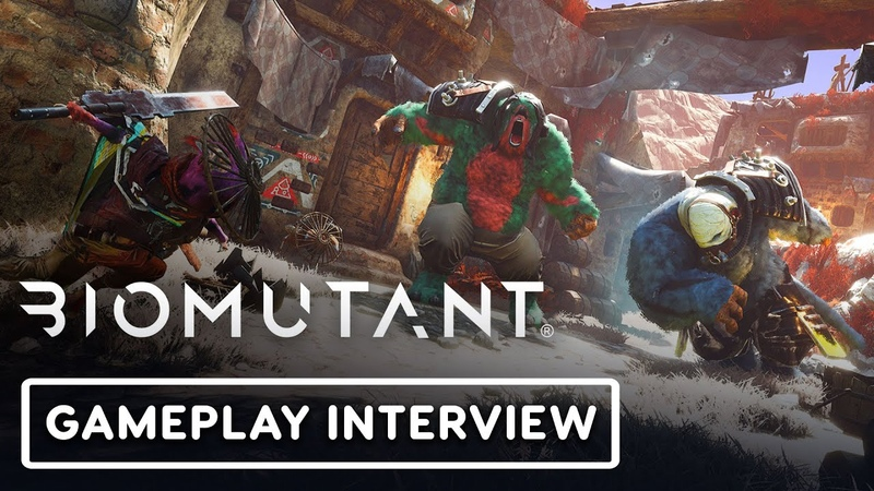 Biomutant Exclusive Gameplay Interview Summer of Gaming 2020