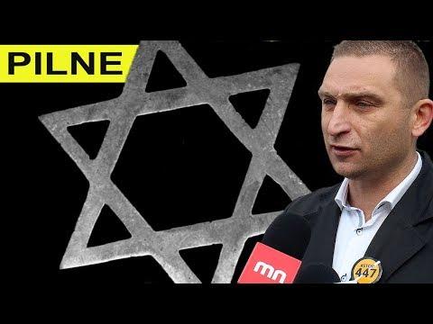 SKANDAL Mossad w Auschwitz dyktuje polskim służbom kogo mają legitymować R Bąkiewicz