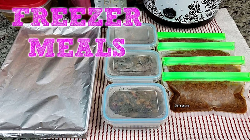 EASY FREEZER MEALS | Slow Cooker BBQ Brisket | How To Freeze Enchiladas