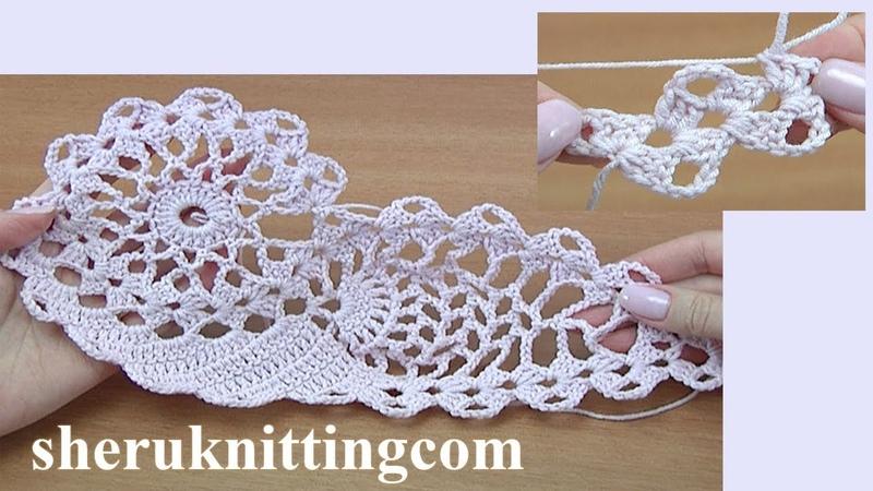 How to Crochet Motif Tutorial 45