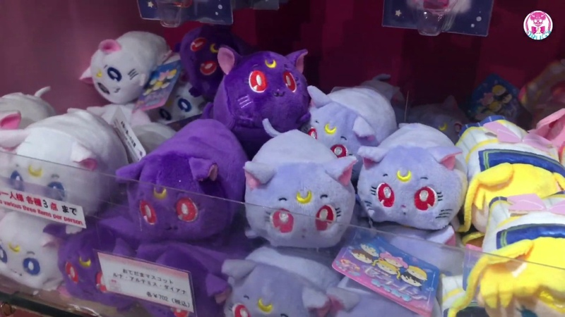 💀Sailor Moon Store 2019 July 原宿 明治神宮前