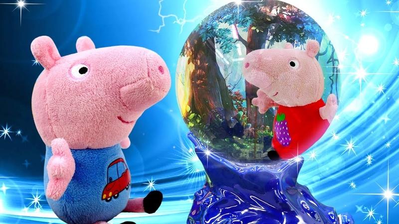 Peppa Pig na escola de magia! Peppa Pig e sua família em português
