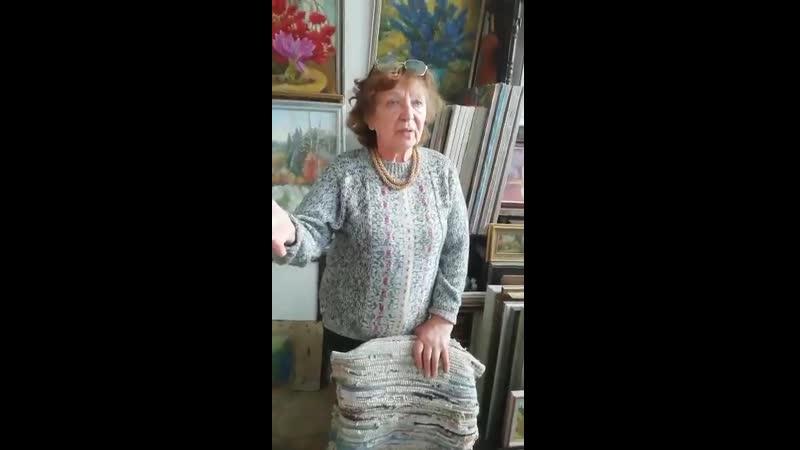 Feodora Ozel - КЦИ -в мастерской А.Тарнавской(2)