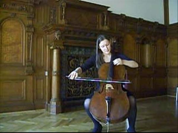 Joseph Haydn Konzert D-Dur für Violoncello Sofia Chekalina