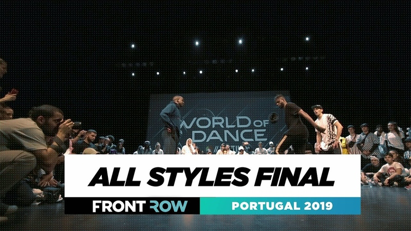 ALL STYLES FINAL   FRONTROW   World of Dance Portugal 2019   WODPOR19