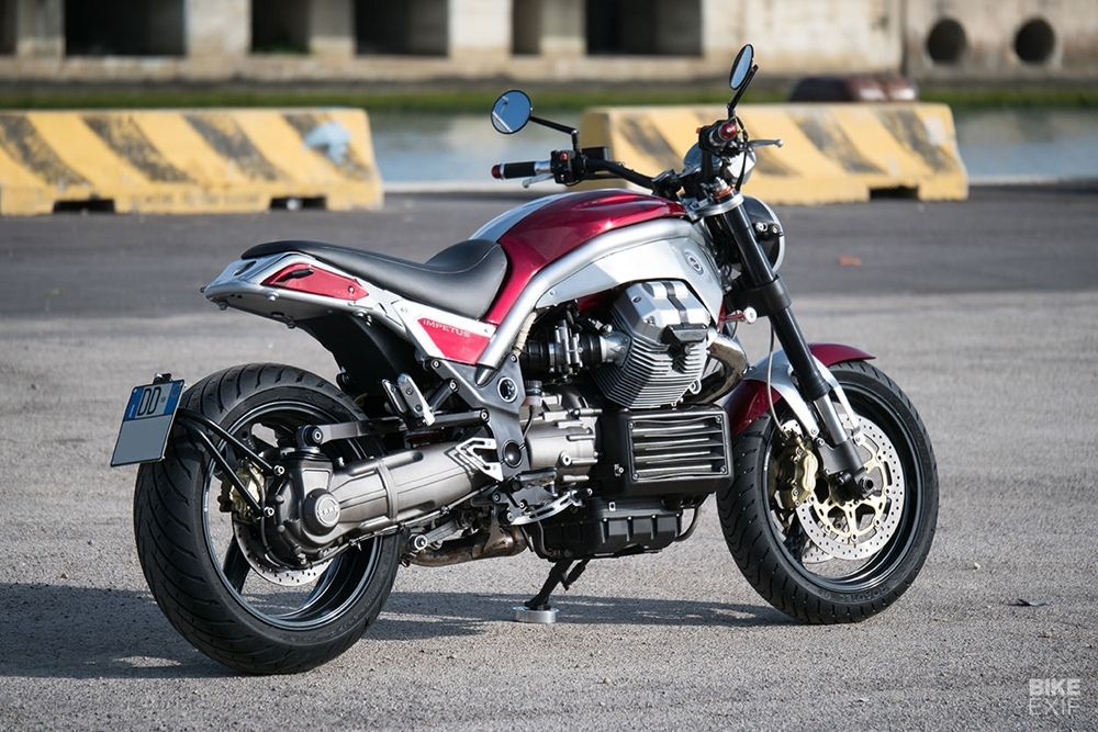 Officine Rossopuro: кастом Impetus на базе Moto Guzzi Griso