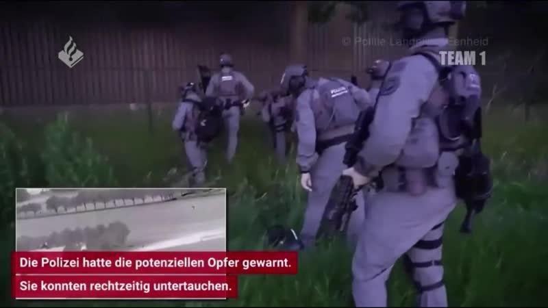 Niederländische Unterwelt GrößeFolterkammer in Container entdeckt Polizei nennt erste Details zu Hauptverdächtigem