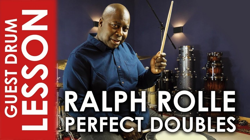 Nailing the Double Stroke Roll Ralph Rolle Guest Drum Lesson