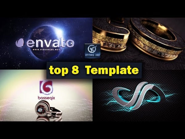 Top 8 Template LOGO After Effects Elements 3D 4