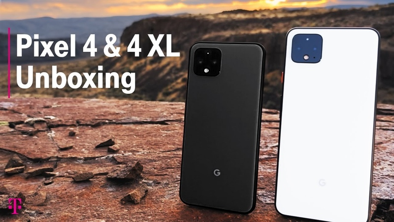 Google Pixel 4 4 XL Phone Unboxing First Impressions | T-Mobile