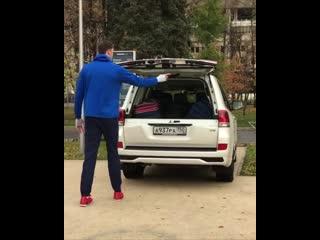 Дмитрий Мусэрский и Toyota Land Cruiser 200