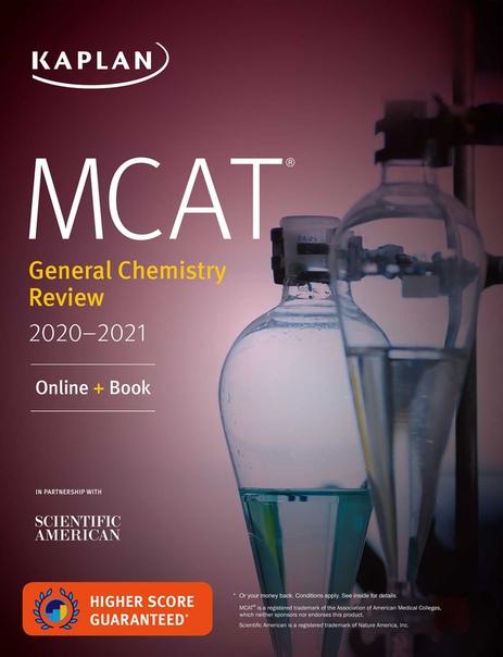 MCAT General Chemistry Review 2020-2021 - Kaplan Test Prep