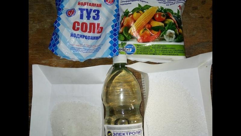 Как сделать азотную и соляную кислоты
