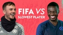 Footballers guess who their SLOWEST teammate is on FIFA 20! | FIFA vs Maddison, Tomori more!