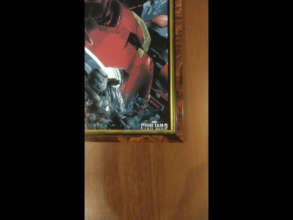 Постеры MarvelDC Железный человек, черная пантера