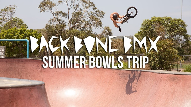 Back Bone BMX Summer 2020 Bowls Trip insidebmx