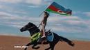Azerbaycanın fexri 10 yaslı Gulay Ferzeliyeva At belinde fantastik tryuk