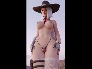 rule34 overwatch ashe 3d porn sound