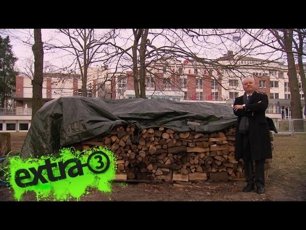 Realer Irrsinn: Baugenehmigung für Holzstapel   extra 3   NDR