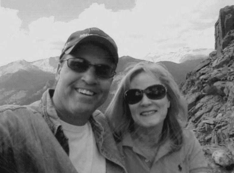 Последнее фото Гарольда Хенторна со своей супругой перед ее убийством