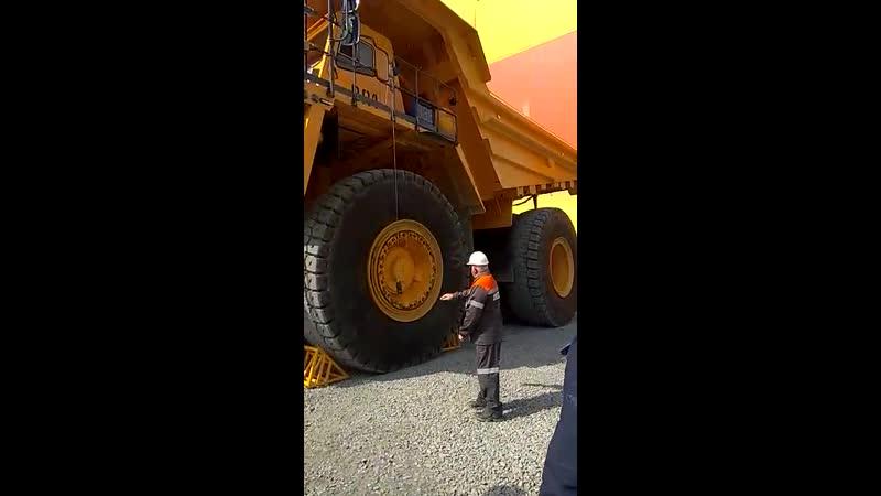 БелАЗ грузоподъемностью 240 тонн Торжественный запуск в эксплуатацию