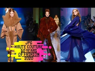 Come backstage with me at jean paul gaultiers last show. 50 years of fashion - alexina graham