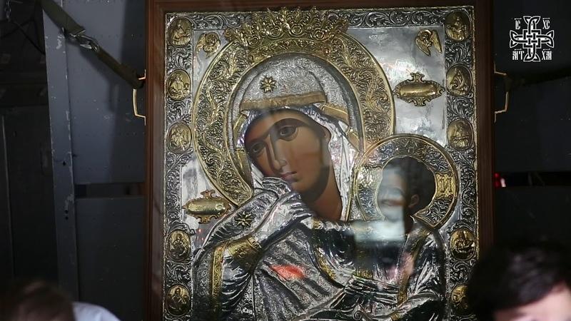 Воздушный крестный ход с иконой Божией Матери Отрада и Утешение 07042020