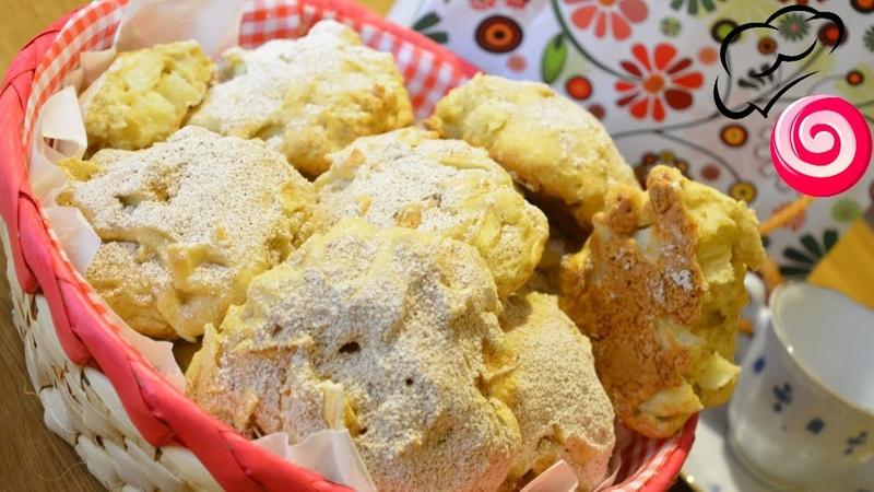 Мягкое печенье с яблоками/Scones/Вкусная выпечка к завтраку