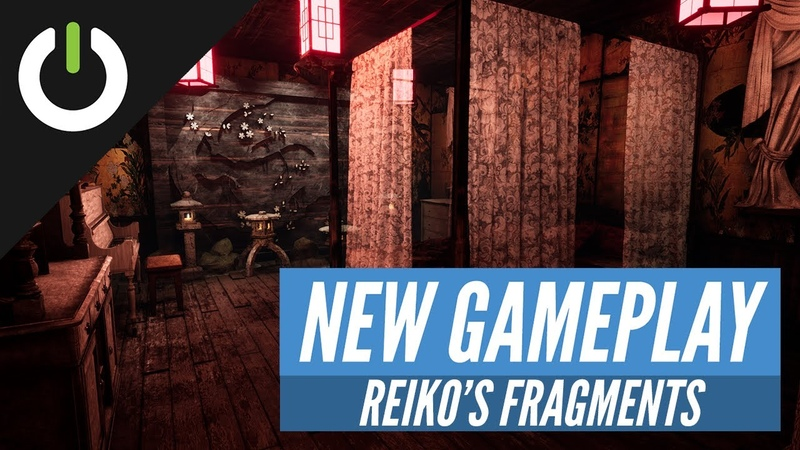 Reiko's Fragments - Beta VR Gameplay (Scares Caused By Friends Via Webpage)