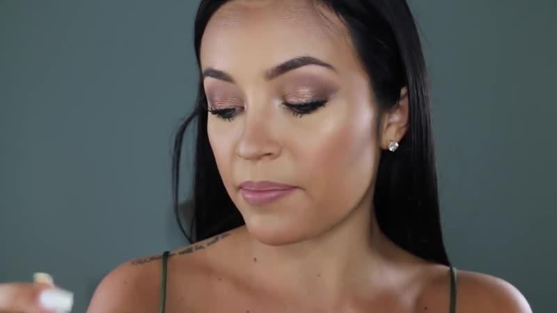 Sunkissed Bronzy Makeup Stephanie Ledda