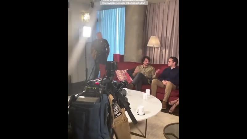 Туба Бюйюкюстюн из пресс интервью