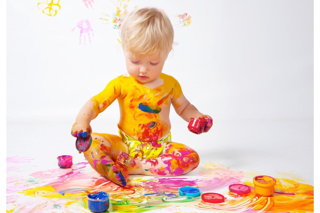 душе краски для малышей картинки комфортный модуль