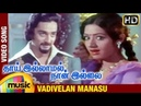 Thai Illamal Naan Illai Tamil Movie | Vadivelan Manasu Video Song | Kamal Haasan | Sridevi