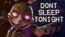 FNAF SONG: Don't Sleep Tonight (by Rockit Gaming)