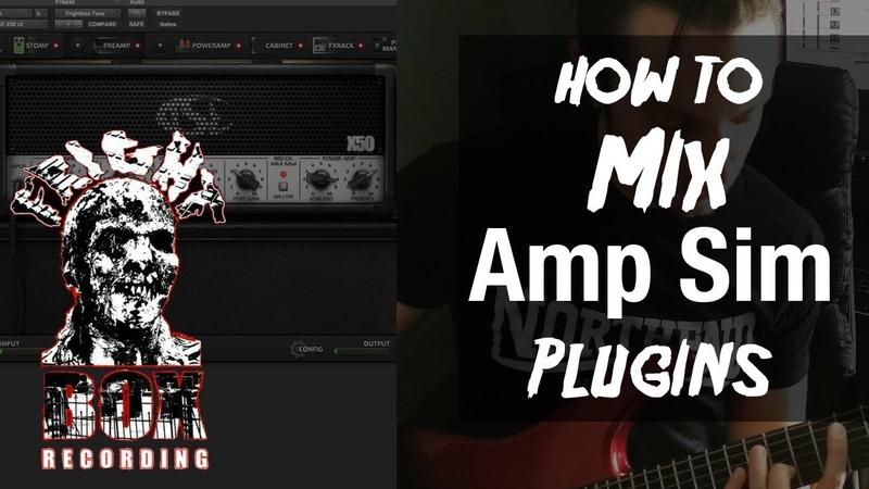 How To Mix Amp Sim Guitar Plugins Metal Mixing Tips