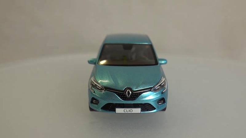 Renault New Clio V Blue Celadon - 2019 год.