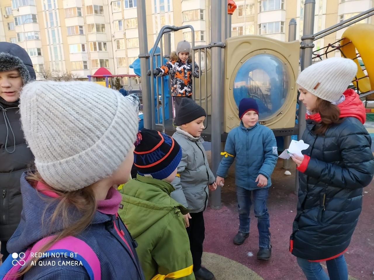 Воскресная школа при храме на Покровской провела квест в Некрасовке