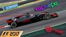 F1 2017 КАРЬЕРА 1 СЕЗОН - КИТАЙ ГОНКА - 2 ЧАСТЬ 6