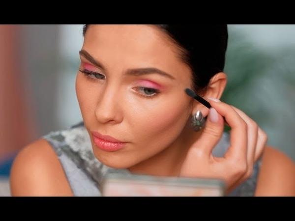 Этюд в розовых тонах мастер класс от Faberlic