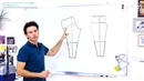 Практический урок №47 Построение моделирование лекал брюк в пижамном стиле