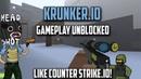 Game Play Krunkerio Hacks Cheats Mods Like Counter Strike io Unblocked