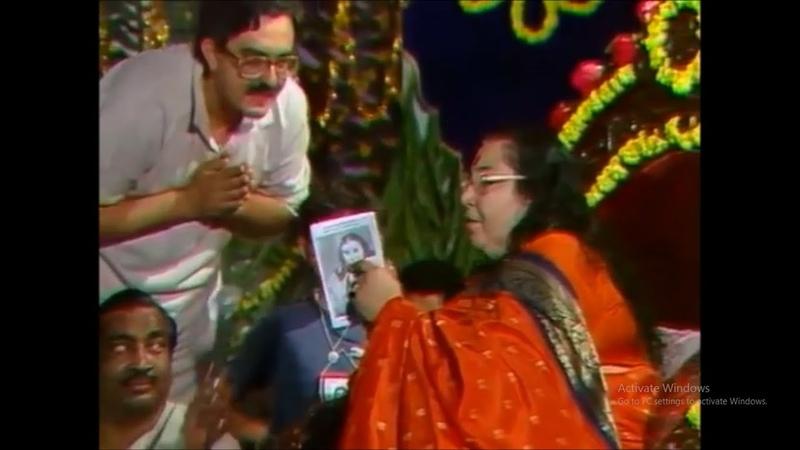 Sanjay 'Roshan' Talwar Performing LIVE before Shree Mataji 3rd January 1988 at Ganpatipule India
