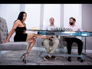 Audrey Bitoni, Keiran Lee - Unfinished Business. Brazzers