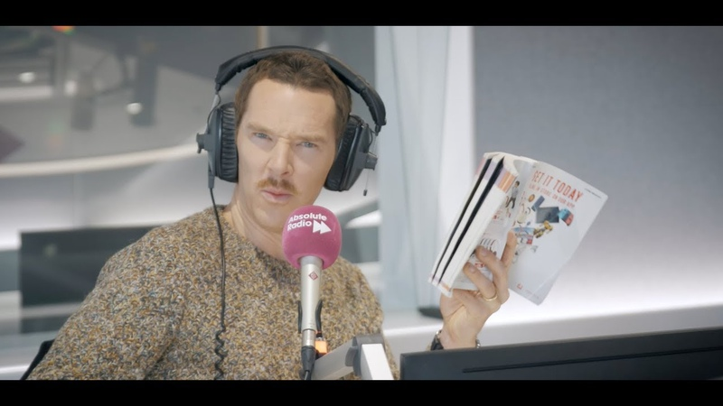 Benedict Cumberbatch on tea Christmas action figures and more